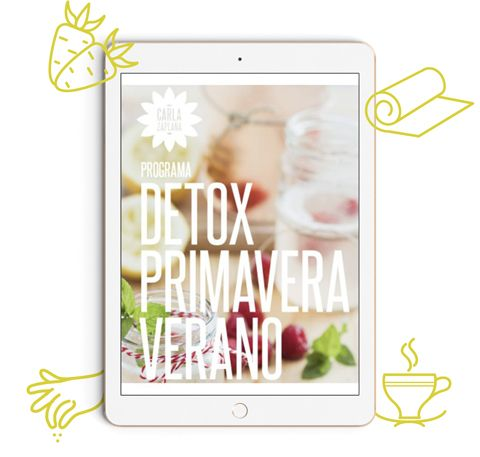 Guía alimentación vegetal Primavera-Verano Carla Zaplana