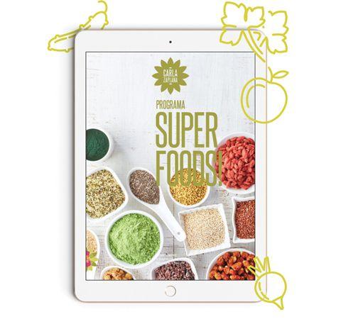 Guía Superfoods Carla Zaplana
