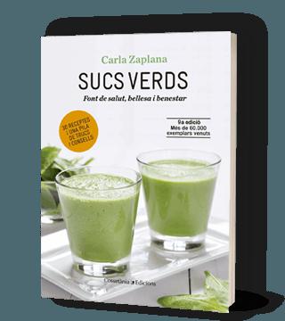 Libro sobre alimentación vegetal Zumos Verdes