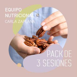 Sesiones Equipo Carla - Pack de 3 sesiones