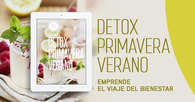 Detox Primavera Verano Carla Zaplana recetas saludables