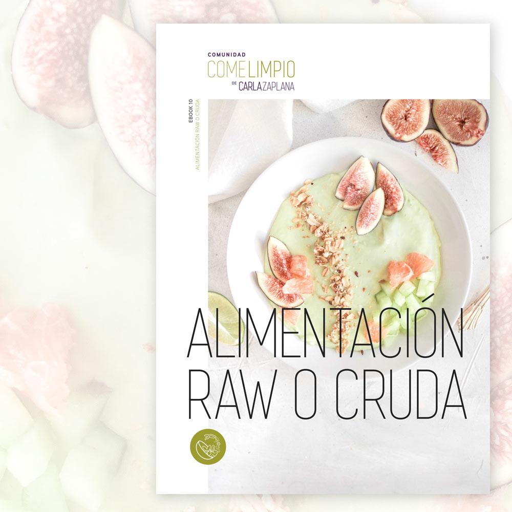 Alimentación cruda o raw