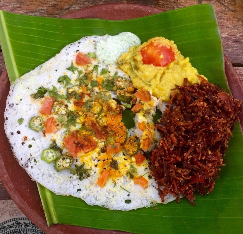 Comida Tipica en Kerala