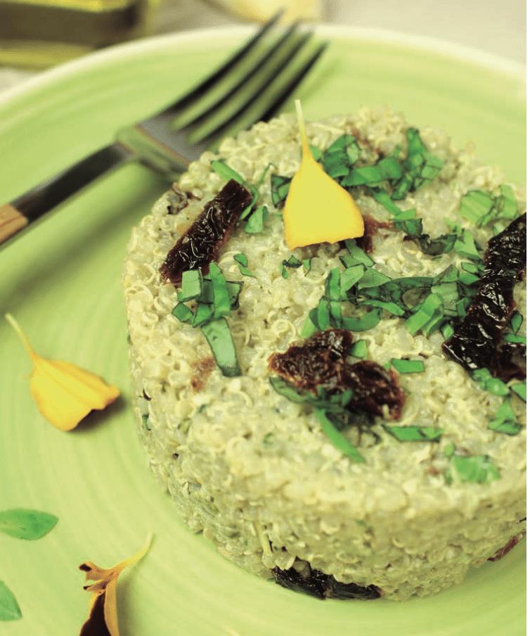 Quinoa al Pesto – Receta COME LIMPIO