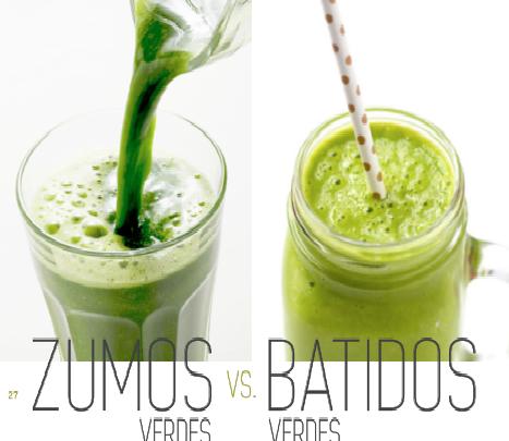 """""""Zumos vs Batidos Verdes"""""""