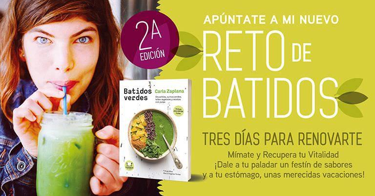 Reto alimentación vegetal Batidos Verdes