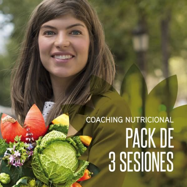Coaching Nutricional - pack de 3 sesiones by Carla Zaplana