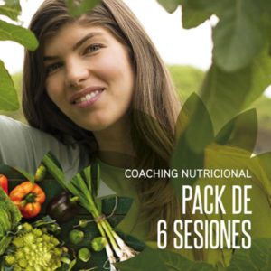 Coaching Nutricional - pack de 6 sesiones by Carla Zaplana