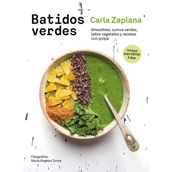 Libro digital Batidos Verdes (español) by Carla Zaplana